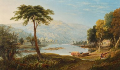 CHARLES VINCENT BARBER | On the Wye near Tintern Abbey