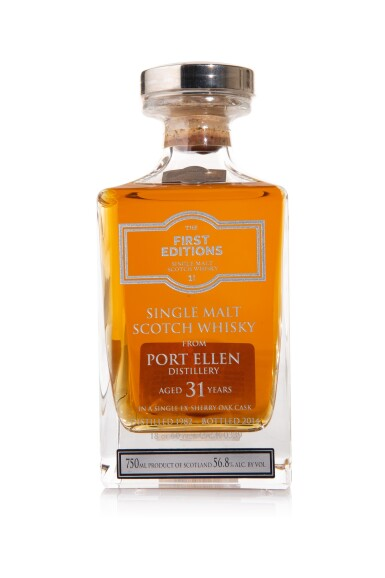 View 1. Thumbnail of Lot 36. Port Ellen First Editions 31 Year Old, 56.8 abv 1982 (1 BT75cl).