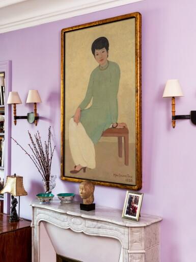 View 6. Thumbnail of Lot 1026. Mai Trung Thu 梅忠恕 | Portrait de Mademoiselle Phuong 芳小姐的肖像.