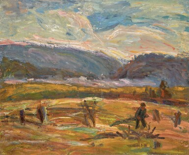 View 1. Thumbnail of Lot 61. ALEXANDER DAVIDOVICH DREVIN | In the Urals .