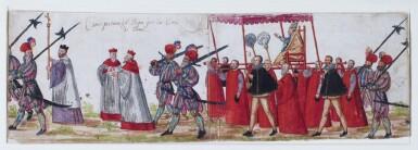 VENETIAN SCHOOL, 17TH CENTURY | A papal procession