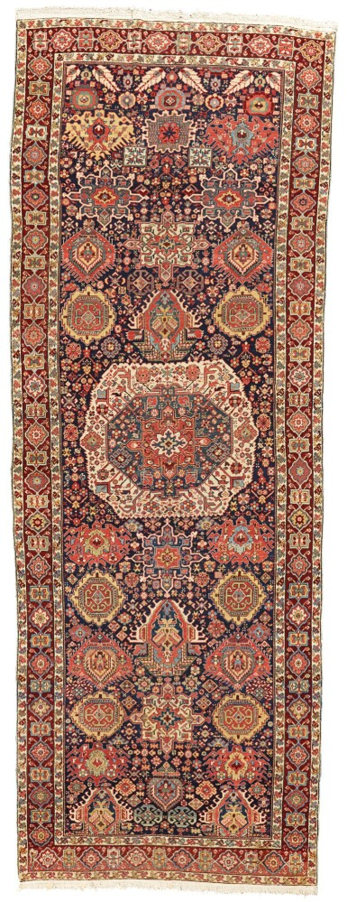 A SOUTH CAUCASIAN GALLERY CARPET