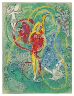 MARC CHAGALL   THE CIRCUS: ONE PLATE (M. 492; SEE C. BKS. 68)