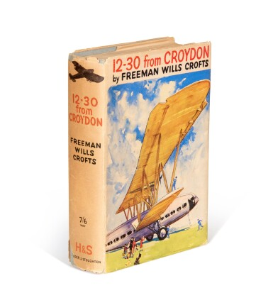 View 1. Thumbnail of Lot 80. Freeman Wills Crofts | The 12.30 from Croydon, 1934, inscribed to the author.