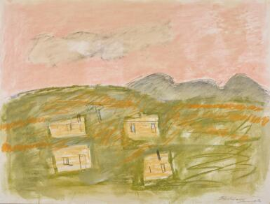 BASIL BLACKSHAW, H.R.H.A   THE HOLIDAY HOME IN THE MOURNES