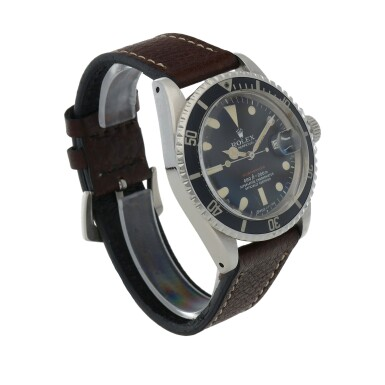 View 3. Thumbnail of Lot 516. 'Red' Submariner, Ref. 1680 Stainless steel wristwatch with date Circa 1972 | 勞力士 1680型號「'Red' Submariner」精鋼腕錶備日期顯示,年份約1972.