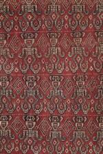 Tissu cérémoniel pua, Iban, Bornéo, Indonésie, début du 20e siècle | Ceremonial cloth pua, Iban, Borneo, Indonesia, early 20th century