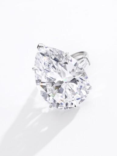 View 4. Thumbnail of Lot 174.   Harry Winston | Important diamond ring | 海瑞溫斯頓 | 鑽石戒指.