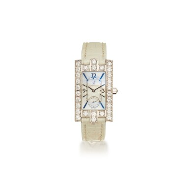 View 1. Thumbnail of Lot 336. Harry Winston | Mother-of-Pearl and Diamond 'Avenue' Wristwatch.