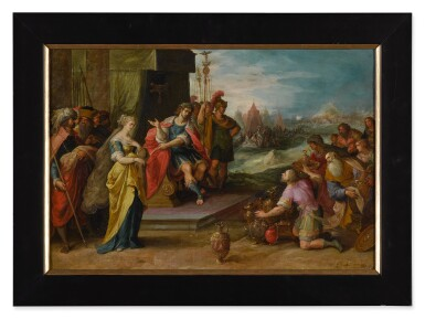View 2. Thumbnail of Lot 594. The Continence of Scipio.