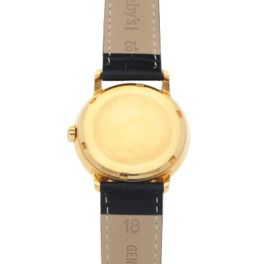 View 4. Thumbnail of Lot 87. Ref. 3454 Yellow gold wristwatch with 'reeded' bezel Made in 1962 | 百達翡麗 3454型號黃金腕錶,1962年製.