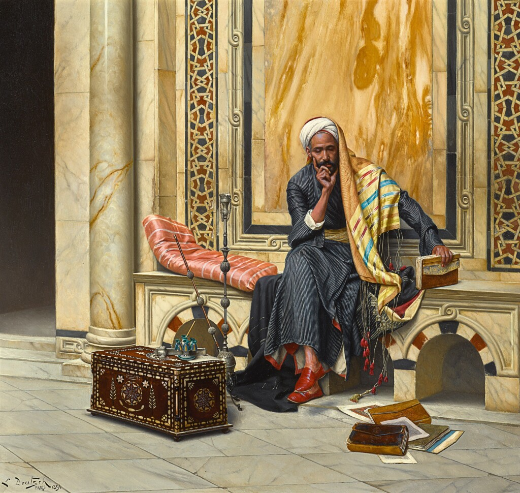 LUDWIG DEUTSCH | THE SCRIBE