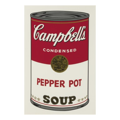 View 9. Thumbnail of Lot 19. ANDY WARHOL | CAMPBELL'S SOUP I (F. & S. II.44-53).