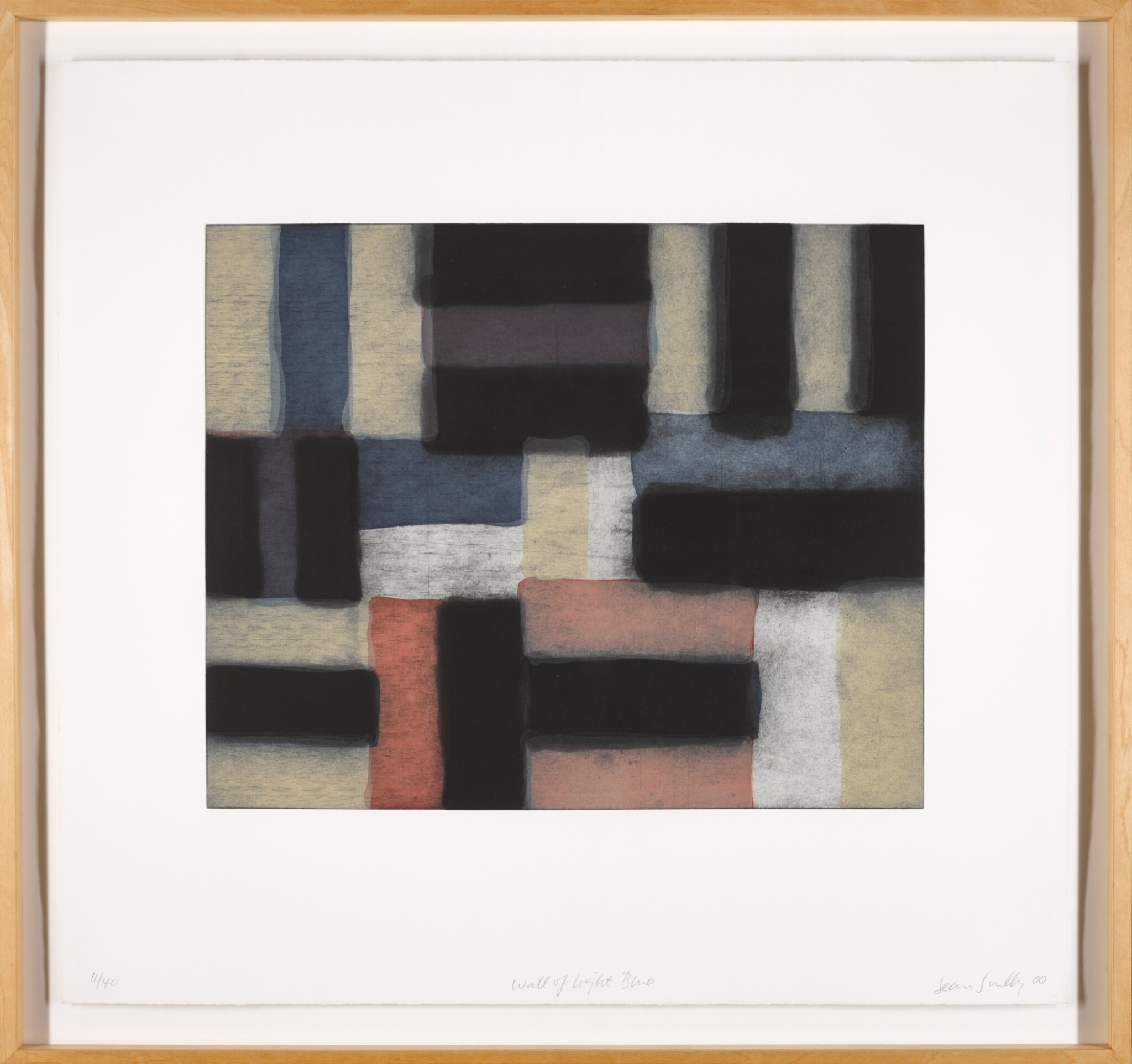 View full screen - View 1 of Lot 25. SEAN SCULLY | WALL OF LIGHT BLUE.