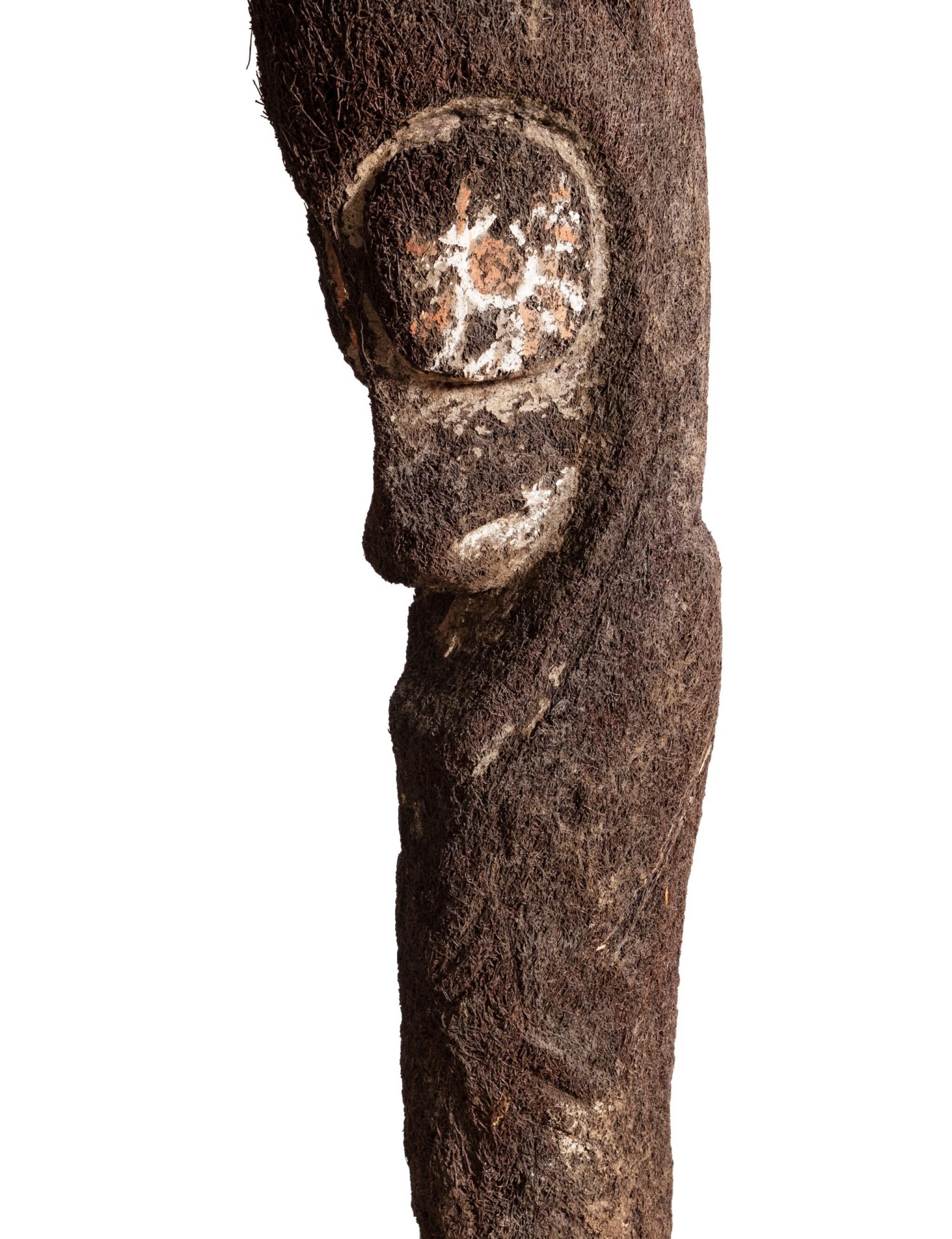 View full screen - View 1 of Lot 67. Statue de grade en fougère arborescente, Archipel du Vanuatu | Tree-Fern grade-figure, Vanuatu Archipelago.