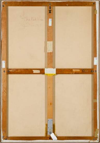 View 3. Thumbnail of Lot 862. JIM DINE | THE RED VISE.