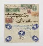 1898 Trans-Mississippi 1c three, 2c, 4c (285, 286, 287)