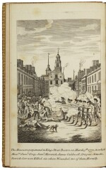 (BOSTON MASSACRE: JAMES BOWDOIN, JOSEPH WARREN, SAMUEL PEMBERTON) | A Short Narrative of the Horrid Massacre in Boston, Perpetrated in the Evening of the Fifth Day of March 1770, by Soldiers of the XXIXth Regiment … with Some Observations of the State of Things prior to that Catastrophe. Printed by Order of the Town of Boston: London, Re-printed for E. and C. Dilly, and J. Almon, 1770