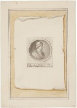 Trompe l'oeil with silver medal celebrating Dr. Nicolaes Tulp's fourth term as mayor of Amsterdam