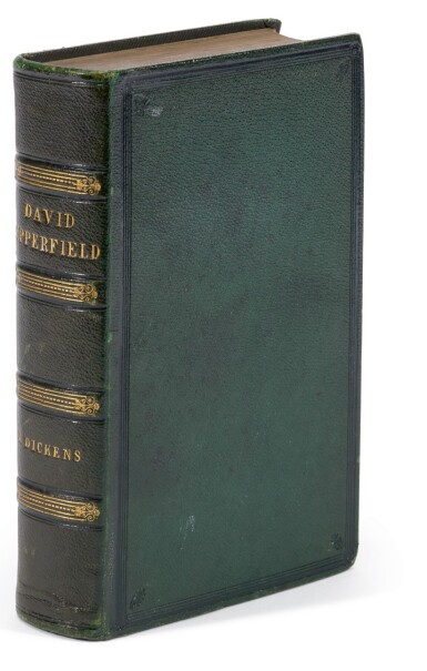 Dickens, David Copperfield, 1850, first edition in book form, possible special publisher's binding