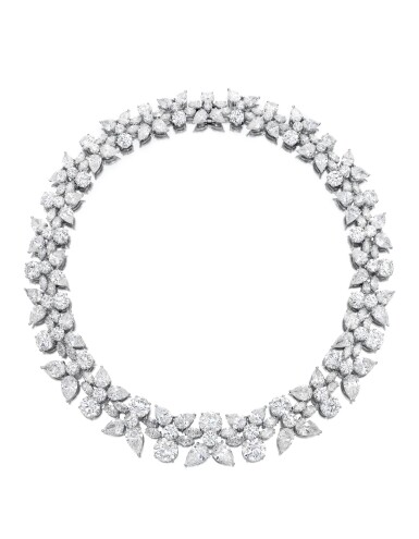 View 1. Thumbnail of Lot 1754. HARRY WINSTON   'HOLLY WREATH' DIAMOND NECKLACE   海瑞溫斯頓   'Holly Wreath' 鑽石項鏈 (鑽石共重約125.00卡拉).