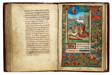 View 2. Thumbnail of Lot 34. Book of Hours, Use of Reims, illuminated manuscript on vellum [France, late 15th century].