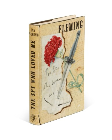 View 2. Thumbnail of Lot 52. FLEMING | The Spy Who Loved Me, 1962, first edition, presentation copy to Robert Kennedy.