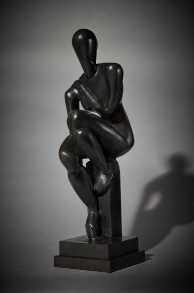 View 1. Thumbnail of Lot 13. Femme assise .