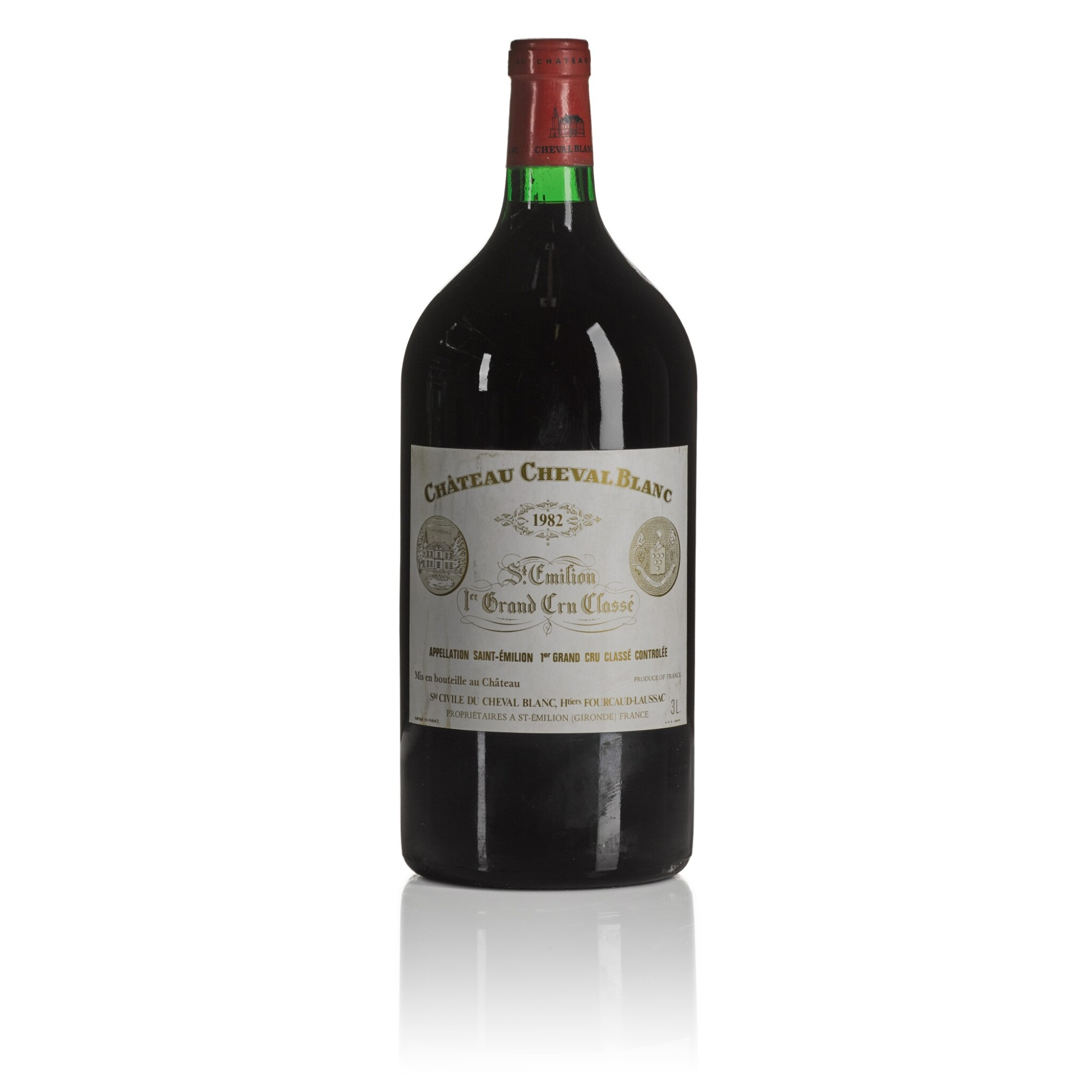 View full screen - View 1 of Lot 275. Château Cheval Blanc 1982  (1 DM).