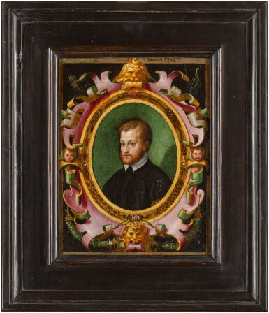 View 3. Thumbnail of Lot 48. ANTONIO CAMPI  |  PORTRAIT OF A BEARDED MAN, BUST-LENGTH .