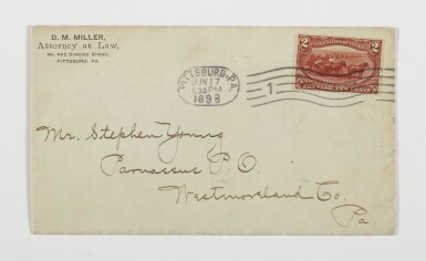 1898 Trans-Mississippi 2c Copper First Day Cover (286)