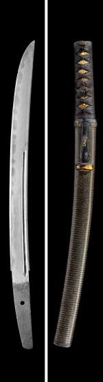 A TANTO AND A KATANA, THE TANTO, SIGNED MORIMITSU, EDO PERIOD | 18TH CENTURY