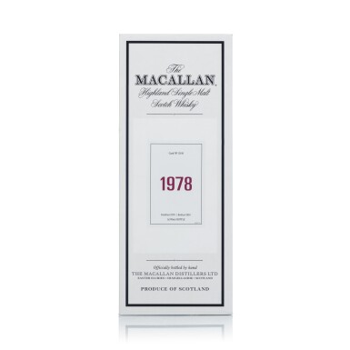 View 4. Thumbnail of Lot 47. The Macallan Fine & Rare 39 Year Old 59.2 abv 1978 (1 BT70).