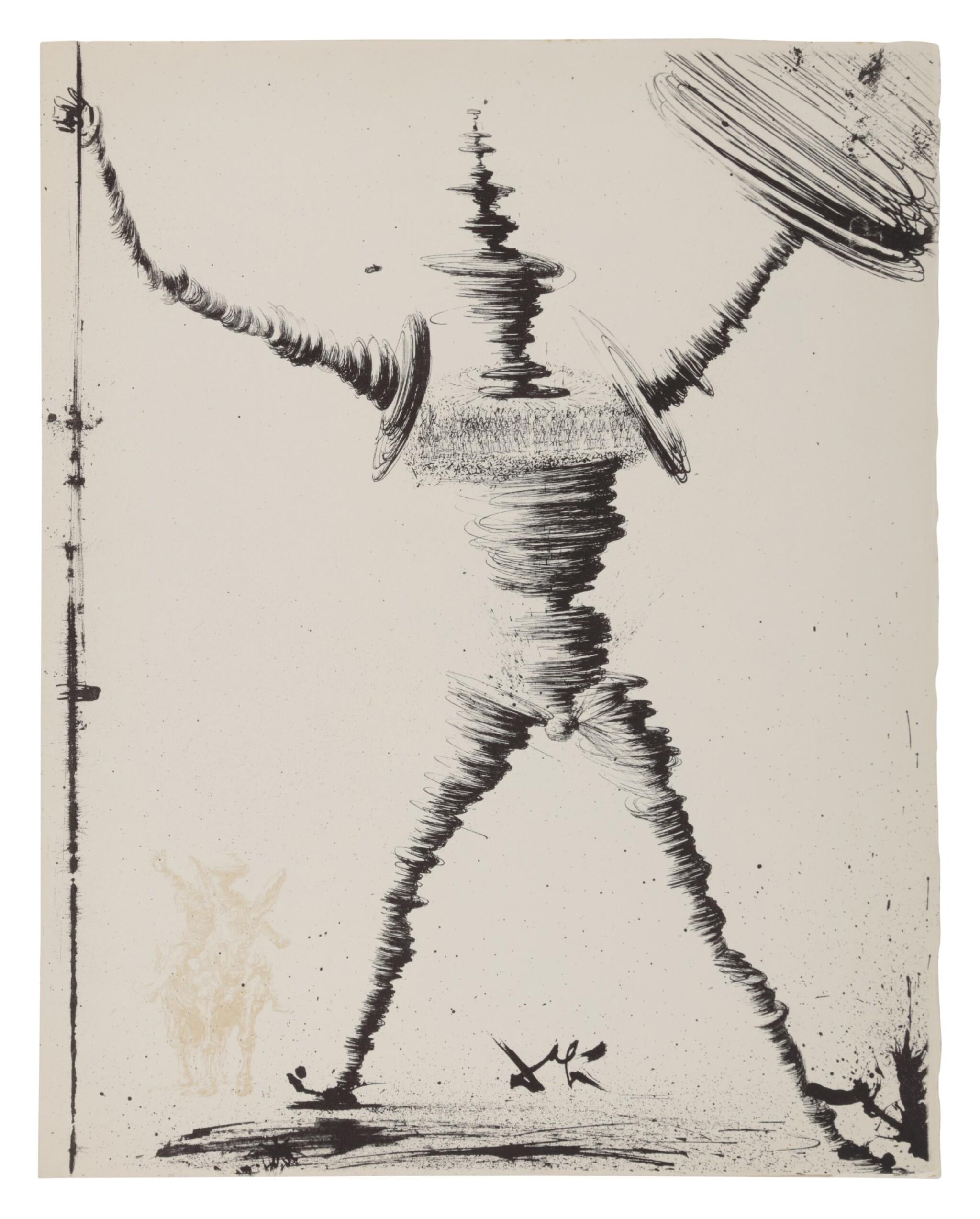 View full screen - View 1 of Lot 79. Pages choisies de Don Quichotte de la Manche (Michler/Löpsinger 1001-1012; Field 57-1).