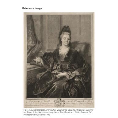 View 2. Thumbnail of Lot 83. NICOLAS DE LARGILLIERRE | PORTRAIT OF MADAME TITON, NÉE MARGUERITE BÉCAILLE.