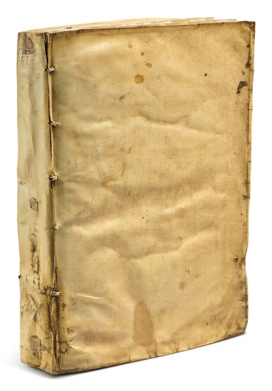 View 4. Thumbnail of Lot 12. Linschoten, Jan Huygen van   An English Linschoten in contemporary vellum.