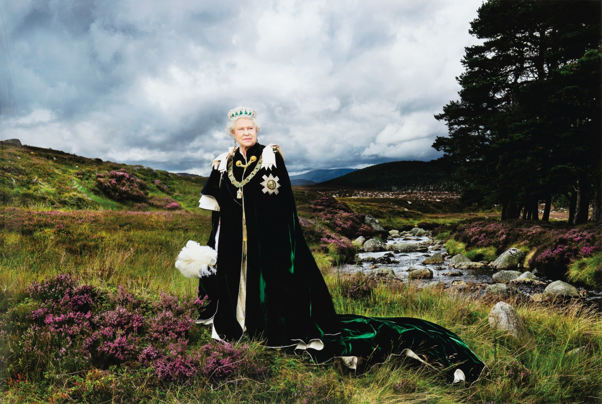 View full screen - View 1 of Lot 82. Her Majesty The Queen, (The Queen of Scots and Chief of the Chiefs), 2010.
