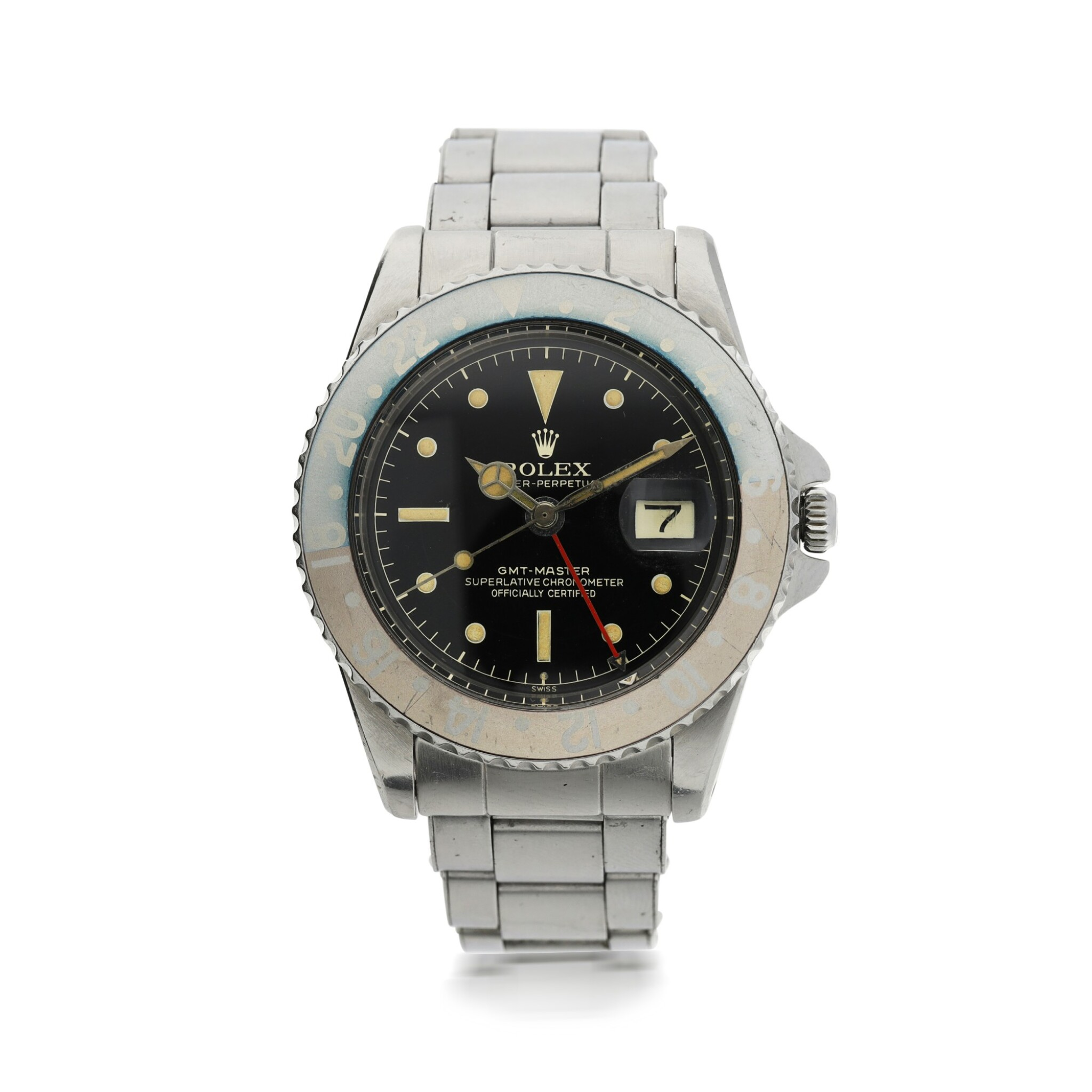 """View full screen - View 1 of Lot 551. ROLEX 