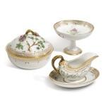 Three Royal Copenhagen 'Flora Danica' Wares, Modern