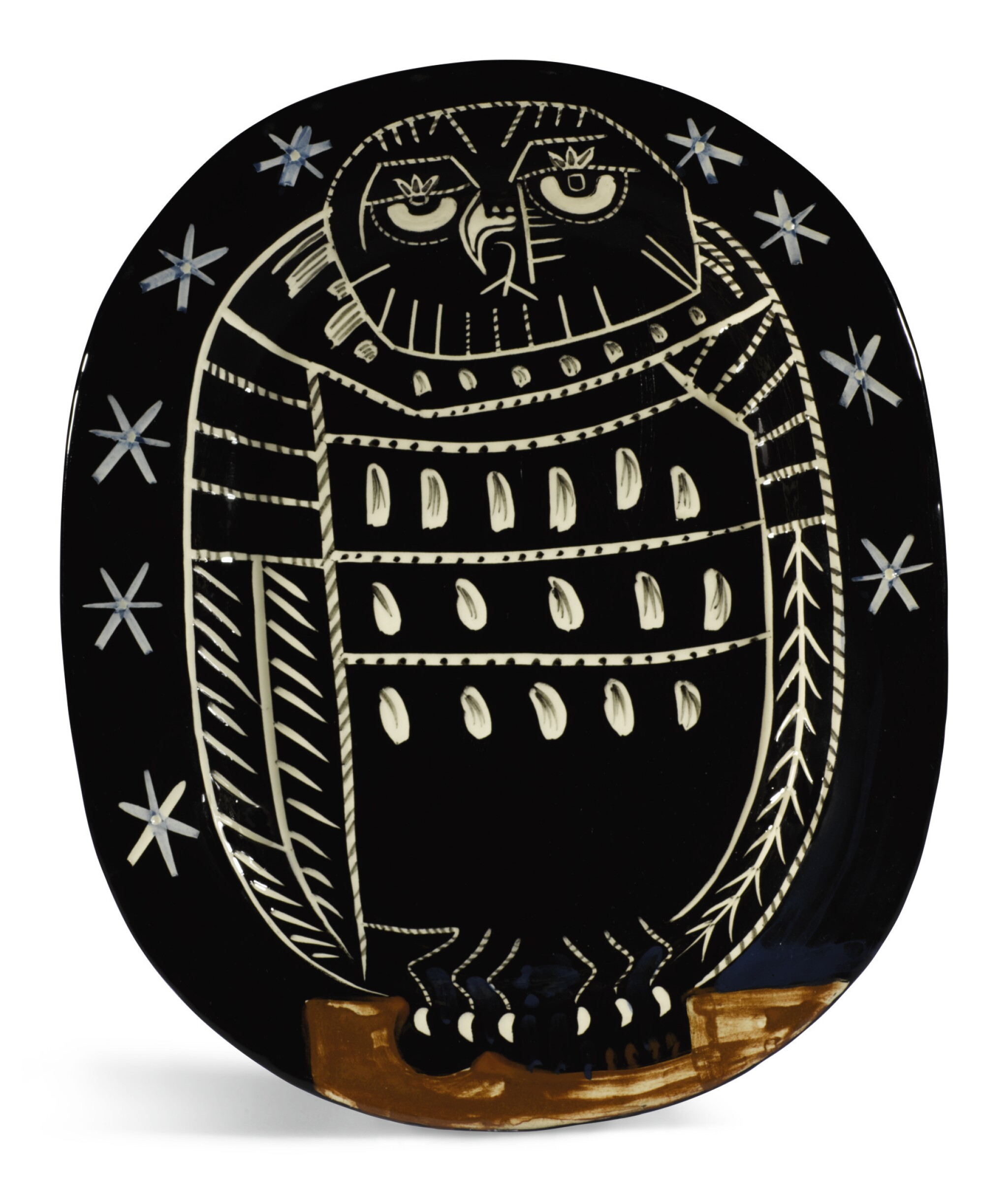View full screen - View 1 of Lot 27. PABLO PICASSO | HIBOU BRILLANT (A. R. 285).