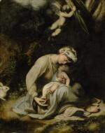 CIRCLE OF ANTONIO ALLEGRI, CALLED CORREGGIO | MADONNA AND CHILD (LA ZINGARELLA)