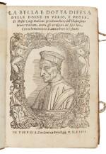 Dardano, La bella e dotta difesa delle donne, Venice, 1554, contemporary limp vellum