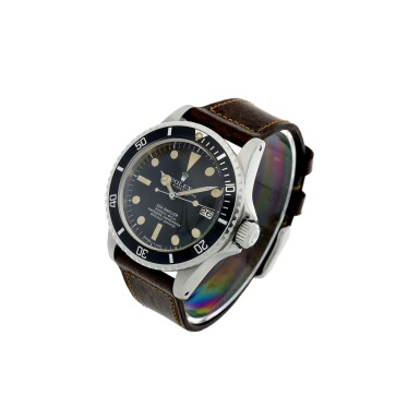 View 2. Thumbnail of Lot 107. ROLEX   REFERENCE 1665 SEA-DWELLER 'GREAT WHITE' A STAINLESS STEEL AUTOMATIC WRISTWATCH WITH DATE, CIRCA 1977.