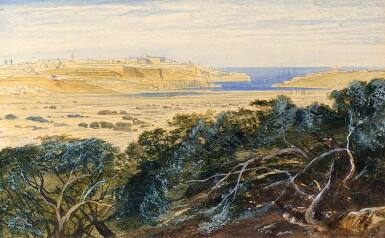 View 1. Thumbnail of Lot 45. EDWARD LEAR, R.S.W. | Valetta, Malta.