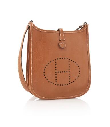 Leather and palladium hardware, Evelyne PM 16, Hermès, 2005