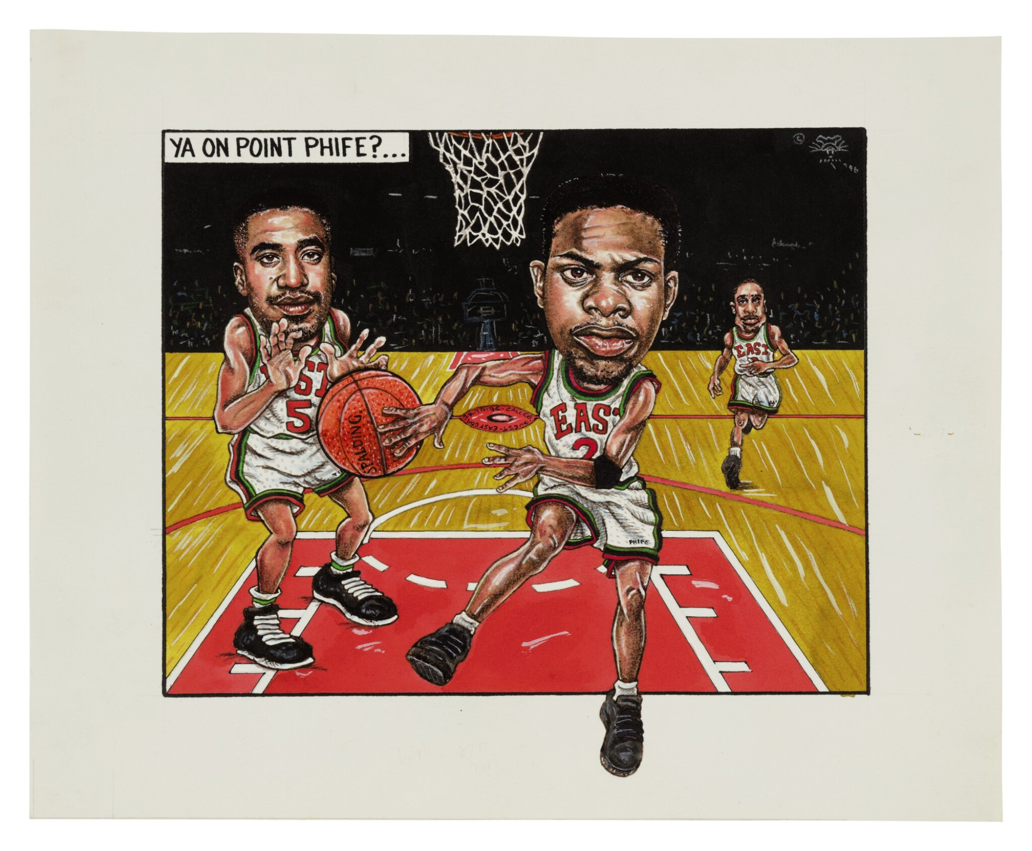 """View full screen - View 1 of Lot 107. ANDRÉ LEROY DAVIS 