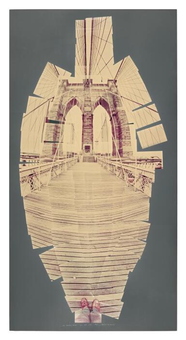 DAVID HOCKNEY, R.A. | BROOKLYN BRIDGE, 1982