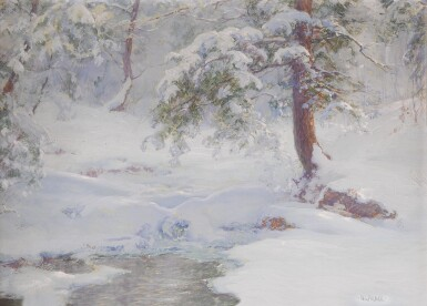 WALTER LAUNT PALMER | A WINTER IDYLL