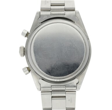 View 5. Thumbnail of Lot 2. ROLEX | REFERENCE 6238 'PRE-DAYTONA'  A STAINLESS STEEL CHRONOGRAPH WRISTWATCH WITH BRACELET, CIRCA 1964.