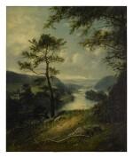 WILLIAM SANFORD MASON | LANDSCAPE WITH RIVER